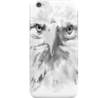 Bald Eagle head  as a drawing iPhone Case/Skin