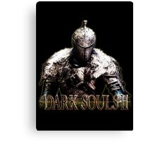 dark soul Canvas Print