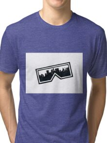 City Glasses Tri-blend T-Shirt