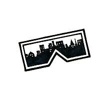 City Glasses Photographic Print