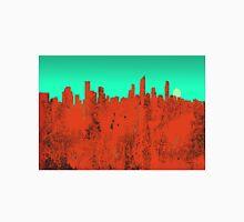 Gold Coast, Queensland, Australia Skyline - RED Unisex T-Shirt