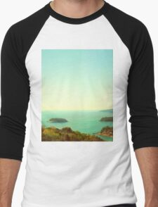 Ocean landscape Men's Baseball ¾ T-Shirt