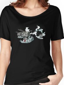Kantai Collection Rensouhou Pixel Art Women's Relaxed Fit T-Shirt