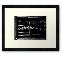 Elegantly Wasted Framed Print