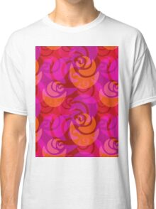 Roses pattern Classic T-Shirt