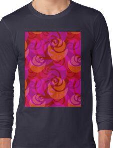 Roses pattern Long Sleeve T-Shirt