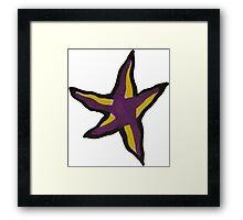 Complimentary Star Framed Print
