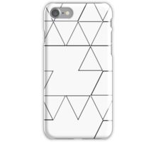 COLORING TRIANGLES iPhone Case/Skin