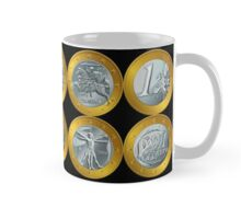 money gold coin euro Mug