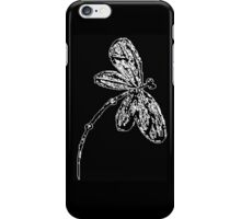 Dragonfly iPhone Case Black and White iPhone Case/Skin