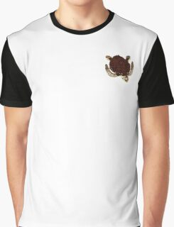 Swimming Turtle Isolated Graphic T-Shirt