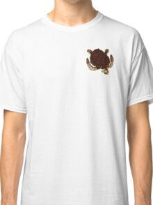 Swimming Turtle Isolated Classic T-Shirt