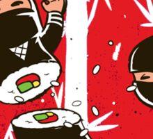 Sushi ninja Sticker