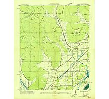USGS TOPO Map Alabama AL Doran Cove 303696 1936 24000 Photographic Print