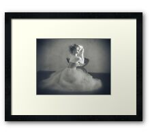The frock Framed Print