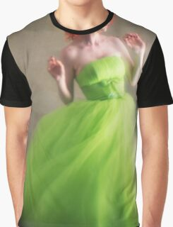 Red and green Graphic T-Shirt