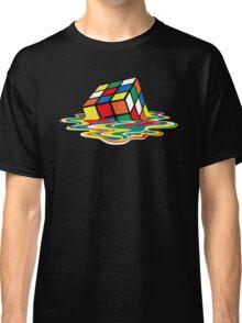 Sheldon Cooper - Melting Rubik's Cube  | Cubo de Rubik derritiéndose Classic T-Shirt