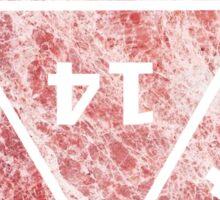 D20 Red Marbel Sticker