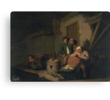 Allegory of the Five Senses, Sight, VICTORYNS, ANTHONY Canvas Print