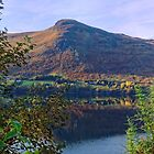 Scottish Loch and Mountain by Steve