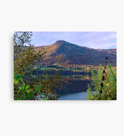 Scottish Loch and Mountain Canvas Print