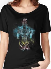 shiny space ship Women's Relaxed Fit T-Shirt