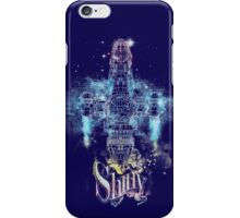 shiny space ship iPhone Case/Skin