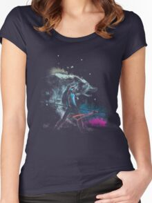 princess of the forest Women's Fitted Scoop T-Shirt
