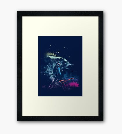 princess of the forest Framed Print