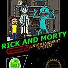 NINTENDO: NES RICK AND MORTY by Joshua Holt