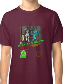 NINTENDO: NES RICK AND MORTY Classic T-Shirt