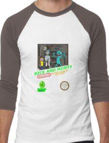 NINTENDO: NES RICK AND MORTY Men's Baseball ¾ T-Shirt