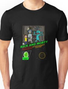 NINTENDO: NES RICK AND MORTY Unisex T-Shirt
