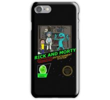 NINTENDO: NES RICK AND MORTY iPhone Case/Skin