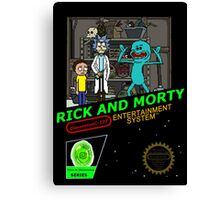NINTENDO: NES RICK AND MORTY Canvas Print