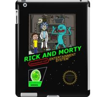 NINTENDO: NES RICK AND MORTY iPad Case/Skin