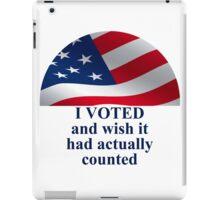 Voting iPad Case/Skin
