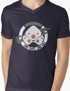 Widoner Mens V-Neck T-Shirt