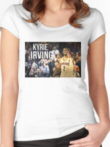 kyrie irving Women's Fitted Scoop T-Shirt