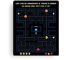 Pacman Game | Juego del Comecocos Canvas Print