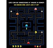 Pacman Game   Juego del Comecocos Photographic Print