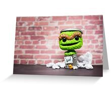 Grouch Greeting Card