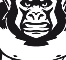 Gorilla agro monkey cool Sticker