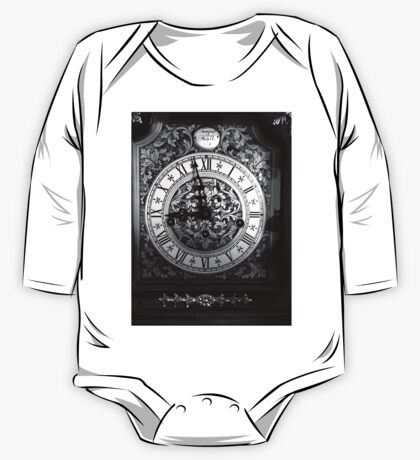 Old clock  One Piece - Long Sleeve