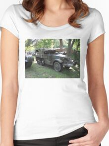 M3 Half-track Women's Fitted Scoop T-Shirt