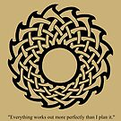 Everything works out more perfectly than I plan it. by Rob Bryant