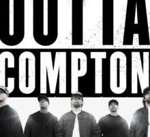 Straight Outta Compton Movie Sticker
