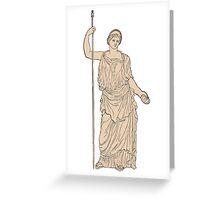 Hera - Ancient Greek God Greeting Card