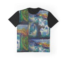 Abstract Shadow Graphic T-Shirt