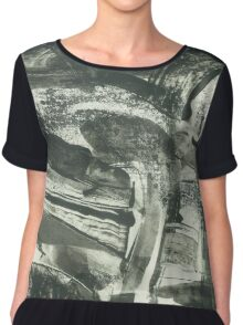 abstract landscape Chiffon Top